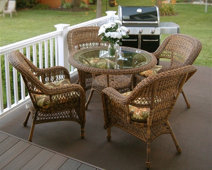 5 Piece Sanibel Dining Set