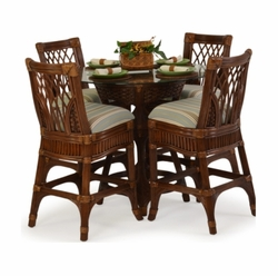 Aruba 5-Piece Pub Table Set