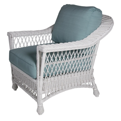 Bar Harbor Wicker Porch Chair