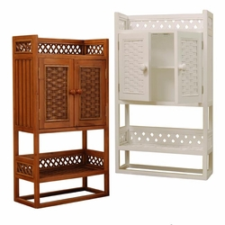 Bathroom Wicker Cabinets