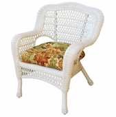Cape Charles Resin Wicker Arm Chair