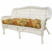 Cape Charles Resin Wicker Sofa