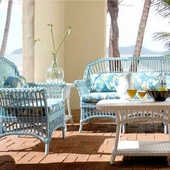 Charleston Wicker Furniture Set