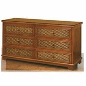 Cottage 6 Drawer Dresser