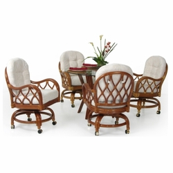 Dining Sets w/Caster Chairs