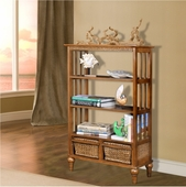Double Basket Shelf/Bookcase