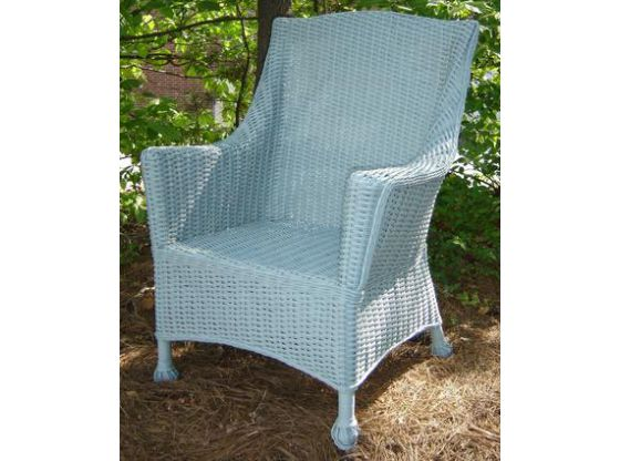 Eastern Shore Boardwalk Wicker Chair