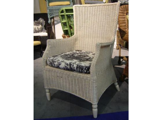 Eastern Shore Coffee House Wicker Chair