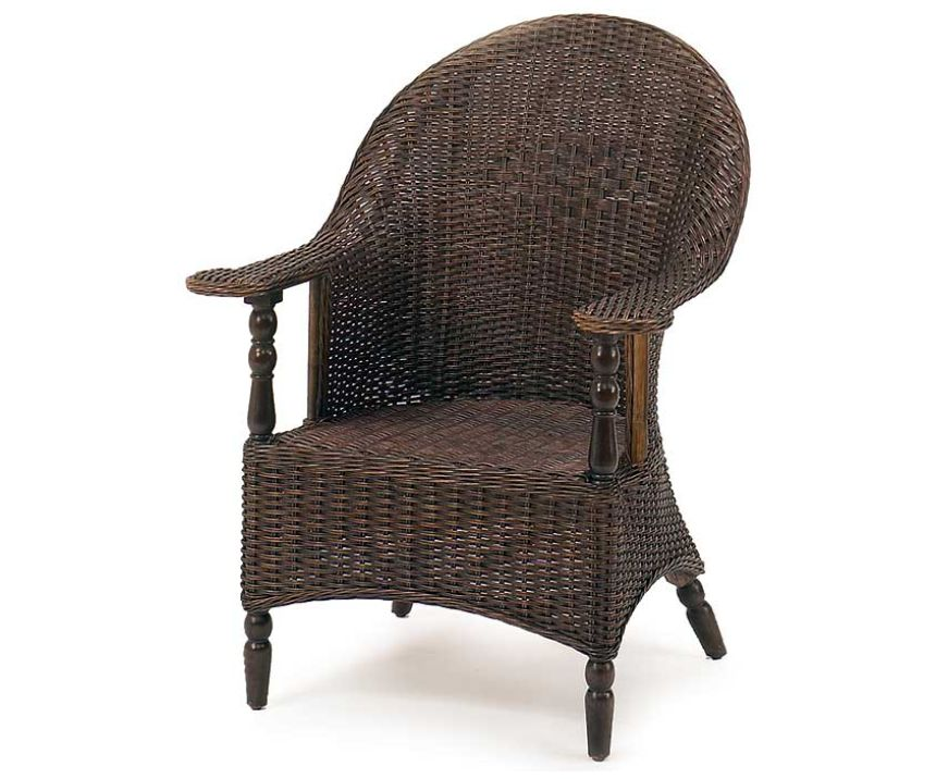 Eastern Shore Wicker Study Chair