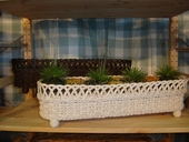 Elongated Irish Channel Planter Basket