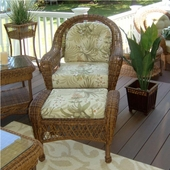 Empire Resin Wicker Patio Chair