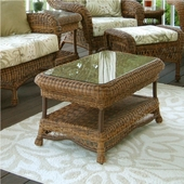 Empire Resin Wicker Patio Coffee Table