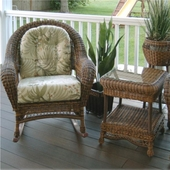 Empire Resin Wicker Patio Rocking Chair