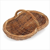 French Country Rattan Baskets
