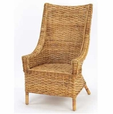 French Country Rattan Chateau Chair