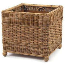 French Country Rattan Planter Box