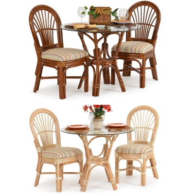Pub Table Sets Rattan Wicker 3 Piece Dining Sets