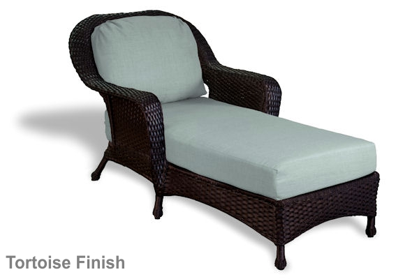 Lexington Outdoor Wicker Chaise Lounge