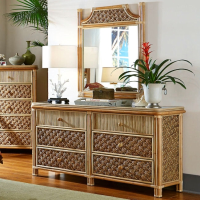 Mandalay 6 Drawer Dresser