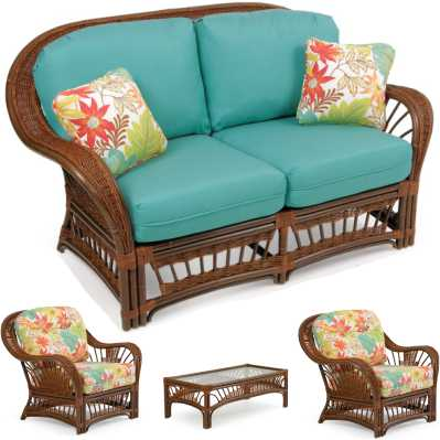 Moorea Outdoor Loveseat Set