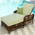 Outdoor Wicker Chaise And A Half