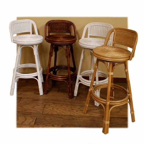 Cst 24 Quot Rattan Counter Stool