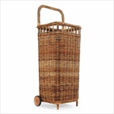 Rattan Basket Carts