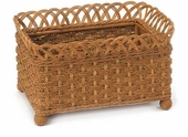 Rectangular Irish Channel Planter Basket