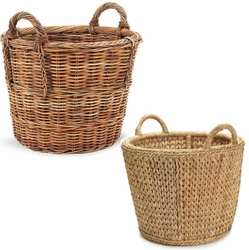 Round Baskets for Potted Plants