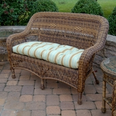 Sanibel Resin Wicker Settee