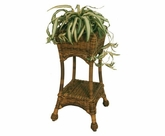 Sanibel Resin Wicker Square Planter