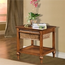 Single Basket End Table