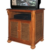 SoHo Wicker TV Cabinet