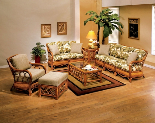 Sunset Rattan Wicker Furniture Set