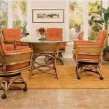 Taipei Rattan Wicker Dining Set