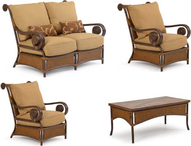 Tuscany Loveseat Set