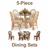 Traditional 5-Piece Dining Sets
