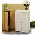 Wicker Floor Cabinet