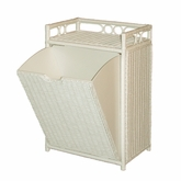 Wicker Hamper Bin