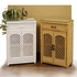 Wicker Storage Cabinet