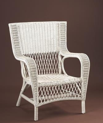 Wrap-A-Round Wicker Porch Chair