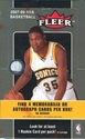 2007 / 2008 Fleer Basketball Card Hobby Box
