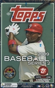 2009 MLB Topps Series 2 Baseball Hobby Box