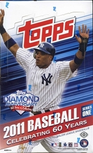 2011 MLB Topps Series 1 Baseball Card Pack