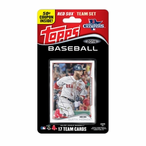 Boston Red Sox 2015 Topps Baseball Card Team Set