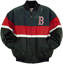 Red sox leather jacket