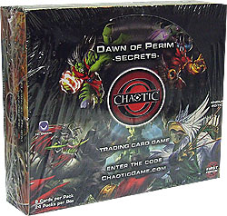 Chaotic Cards DAWN OF PERIM Secrets Booster Box