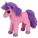 Charming the Pink & Purple Horse (Regular Size) - TY Beanie Baby