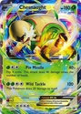 Chesnaught EX XY18 - Pokemon Promo Ultra Rare Card