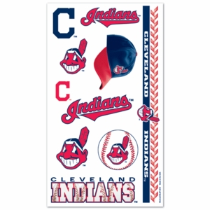 Cleveland Indians Temporary Tattoos